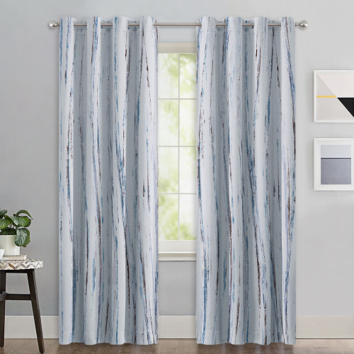 Custom Oil Painting Modern Abstract Art Pattern Blackout Pattern Thick Thermal Insulated Blackout Curtain by NICETOWN ( 1 Panel )