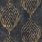 Leaf Pattern Linen Texture Semi-sheer Curtain (1 Panel)