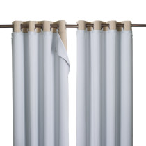 NICETOWN Blackout Curtain Liner with Detachable Ring Included for Windows