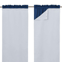 Blackout Curtain Liners for Window - Noise Reducing Light Blocking Liner, Sold as 1 Panel
