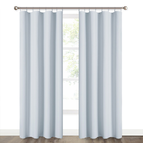 Blackout Liners for Curtain - Sun Blocking Window Liner  Curtain, Bedroom Curtain Panel Light Block, Sold as 1 Panel