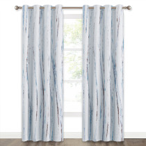 Contemporary Oil Painting Modern Abstract Art Pattern Window Blackout Curtain (1 Panel)