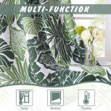 Custom Banana Leaves Pattern Printed Blackout Curtain by NICETOWN ( 1 Panel )