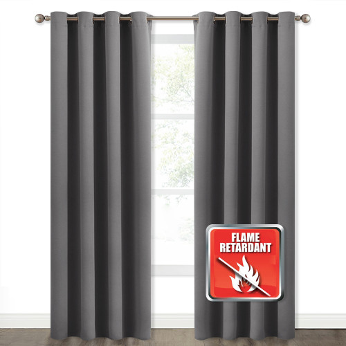 Inherent Flame Resistant Curtains  Blackout Fire Retardant