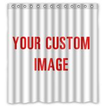 Custom Image Curtain Home Decor for Bedroom/Living Room/Kids Room, Sold as 1 Panel