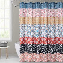 Boho Shower Curtain Waterproof Design Bathroom Home Decor