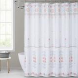 NICETOWN Custom Floral Medallion Shower Curtain
