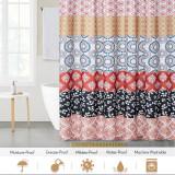 Boho Shower Curtain Waterproof Design Bathroom Home Decor