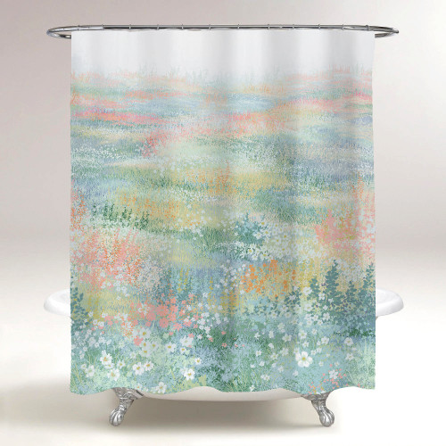 Fall Farmhouse Shower Curtain for Bathroom-Secret Garden by NICETOWN Custom