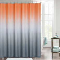 Gradient Artistic Bathroom Shower Curtain