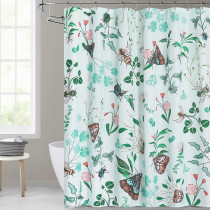 Custom Spring Garden Simple Modern Fashion Shower Curtain by NICETOWN ( 1 Panel )