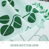 Custom Spring Garden Simple Modern Fashion Shower Curtain by NICETOWN ( 1 Panel )