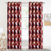 Trapezoidal Geometry Blackout Curtain (1 Panel)