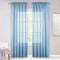 Custom Extra Wide Light Filtering Semi Sheer Curtain-Linen Sheer Textured Sheer Curtain by NICETOWN ( 1 Panel )