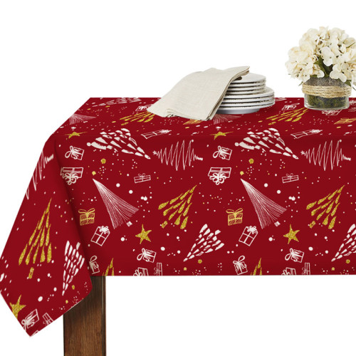 Christmas tablecloth for Rectangle Table