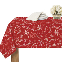 Christmas lines Tablecloth for Rectangle Table