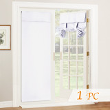 Custom Blackout Door Curtain Tricia  Insulated Light Block French Door Curtain Tie up Shade Energy Efficient Blind by NICETOWN ( 1 Panel )