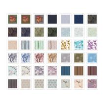 NICETOWN Custom Prints Linen Look Slub Sheer Fabric Swatch Refundable Order Amount Over $199