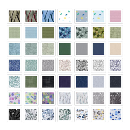 NICETOWN Custom Prints Fabric Swatch Polyester Refundable Order Amount Over $199