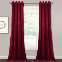 NICETOWN Solid Blackout Thermal Velvet Curtain Drapery - 1 Panel