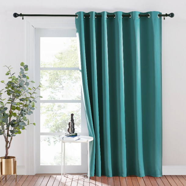 Blackout Hanging Room Divider Curtain (1 Panel)
