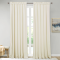 NICETOWN Ivory|Solid Blackout Velvet Curtain Drapery (1 Panel)