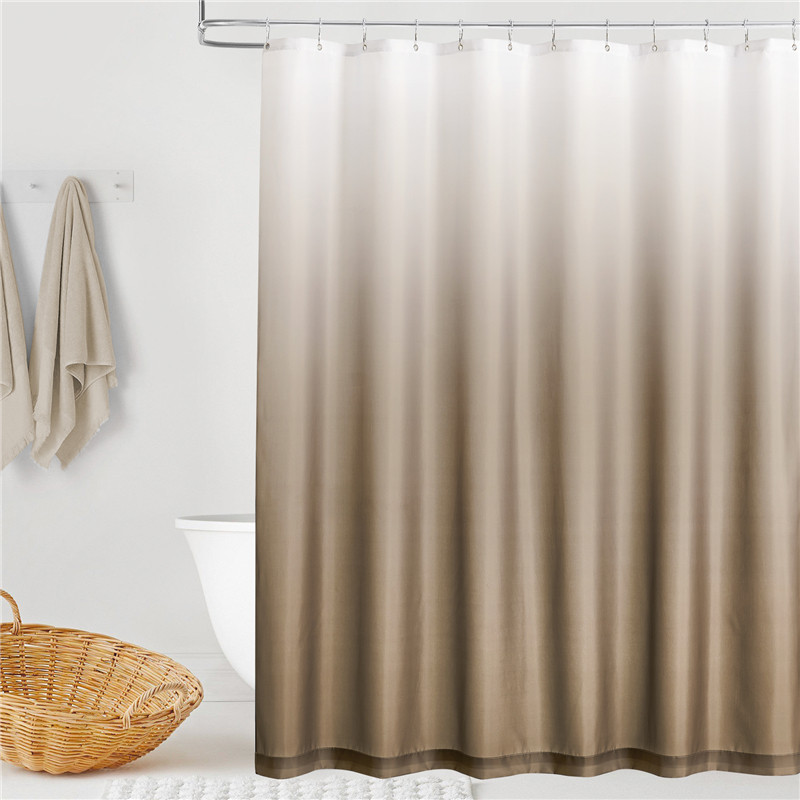 Ombre Simple Modern Fashion Shower Curtain by NICETOWN ( 1 Panel )