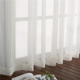 Custom Waterproof Outdoor Sheer Curtain with Rope for Patio-Deck-Pergola by NICETOWN ( 1 Panel )