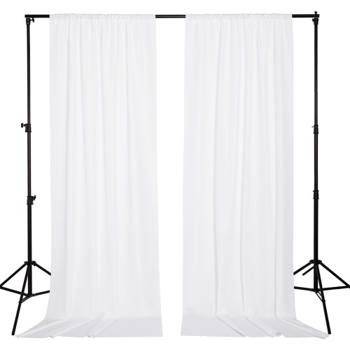 Custom Backdrop Curtains for Parties Partition Room Dividers Curtains Waterproof Home Theater Studio Backgrounds Wedding Stage Stand Panels, 2 Panels