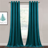 Custom Velvet Curtains  All Size & Style Living Room Blackout Curtains Heavy Duty Panels for Bedroom / Guest Room by NICETOWN ( 1 Panel )