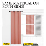 Custom All Size Color Style Wide Room Divider Curtain Blackout Curtain Sliding Door Drape Thermal Insulated Curtain by NICETOWN ( 1 Panel )