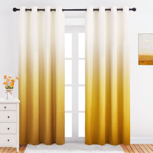 NICETOWN Ombre Velvet Curtain Swatch Refundable Order Amount Over $199