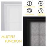 Custom Linen Fabric Light Filtering Roller Shads