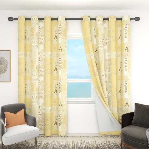 Custom Room Darkening Pattern Curtains by NICETOWN ( 1 Panel )