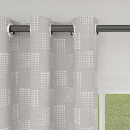 Custom Room Darkening Cube Pattern Curtains by NICETOWN ( 1 Panel )
