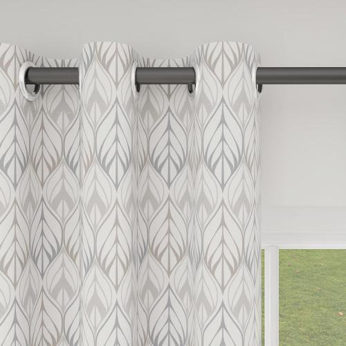 Custom Room Darkening Wheat Field Pattern Curtains by NICETOWN ( 1 Panel )