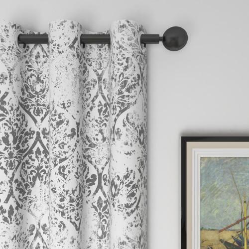 Custom Room Darkening Retro Geometry Pattern Curtains by NICETOWN ( 1 Panel )