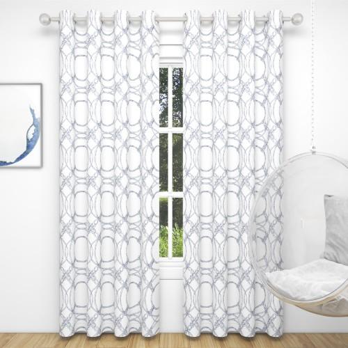 Custom Room Darkening Nautical Lifebuoy Curtains by NICETOWN ( 1 Panel )