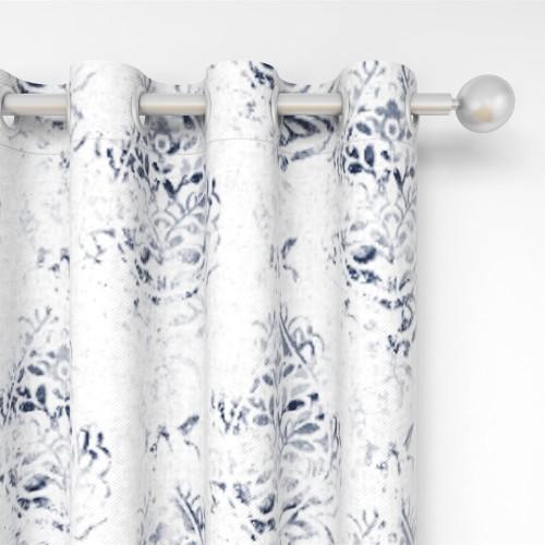 Custom Room Darkening Damascus Pattern Curtains by NICETOWN ( 1 Panel )
