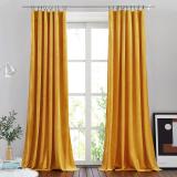 NICETOWN Custom Diameter Drapery Corner Window Curtain Rod Set , Adjustable Length from 28 to 144-Inch