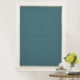 Custom Curtains Blackout Cotton Roman Shade Easy to Install by NICETOWN