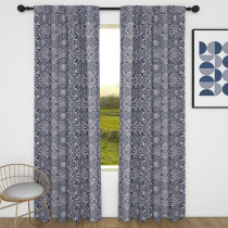Custom Vintage Flowers Blackout Curtain Thermal Insulated Drapes by NICETOWN ( 1 Panel )