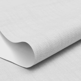 Custom Linen Fabric Blackout Roller Shades