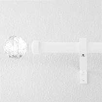 NICETOWN Adjustable Curtain Rod,Crystal Ball Final Design Decorative Drapery Rod, 28-144  Length