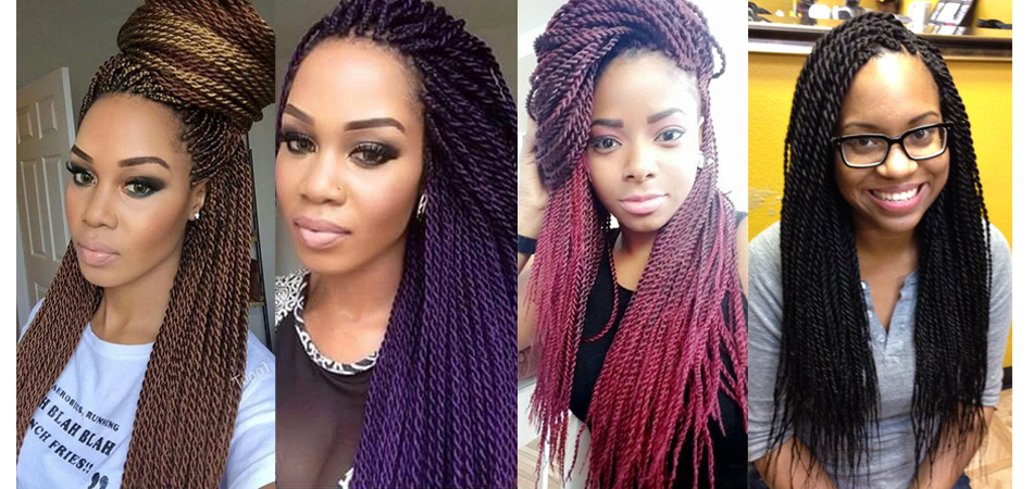 Senegalese Twist Crochet Hair Braids