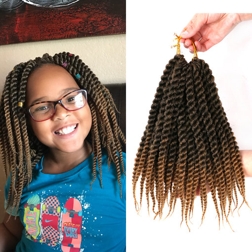 Us 699 Dairess 12 Inches Senegalese Twist Crochet Braids Ombre