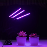 Grow Light, Grow Lights for Indoor Plants, Moer Sky 27W 54 LED Bulbs Timming Plant Grow Lamp with Red, Blue Spectrum, 3/6/12H Timer, 3-Head Divide Control Adjustable Gooseneck, 5 Dimmable Levels