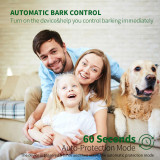 Dog Bark Collar Upgrade Rechargeable Training Collar with Humane Auto Bark Control & 60S Auto Protection, Precise Barking Detection, 100% Waterproof Anti Bark Collar for Small Medium Large Dogs