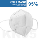 [10 Pack] Protective Face Mask, Anti-dust Outdoor High Efficiency Filtration Breathable Face Mouth Filter