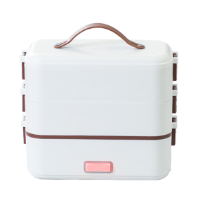 Insulated Heating Rice Cooker Portable Electric Stainless Steel Lunch Box